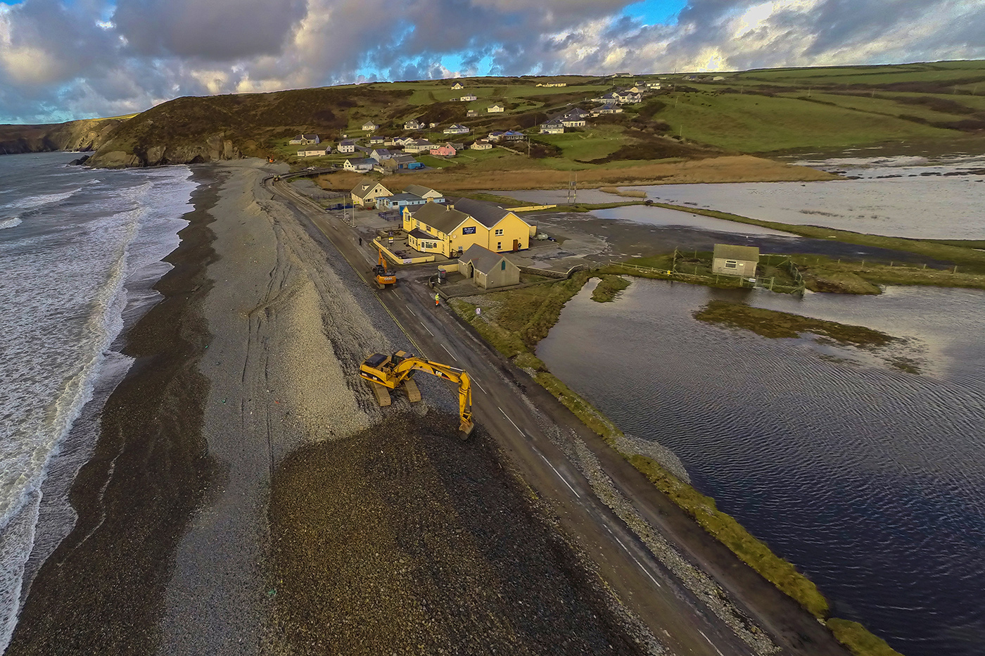 Newgale road expected to re-open on Friday evening
