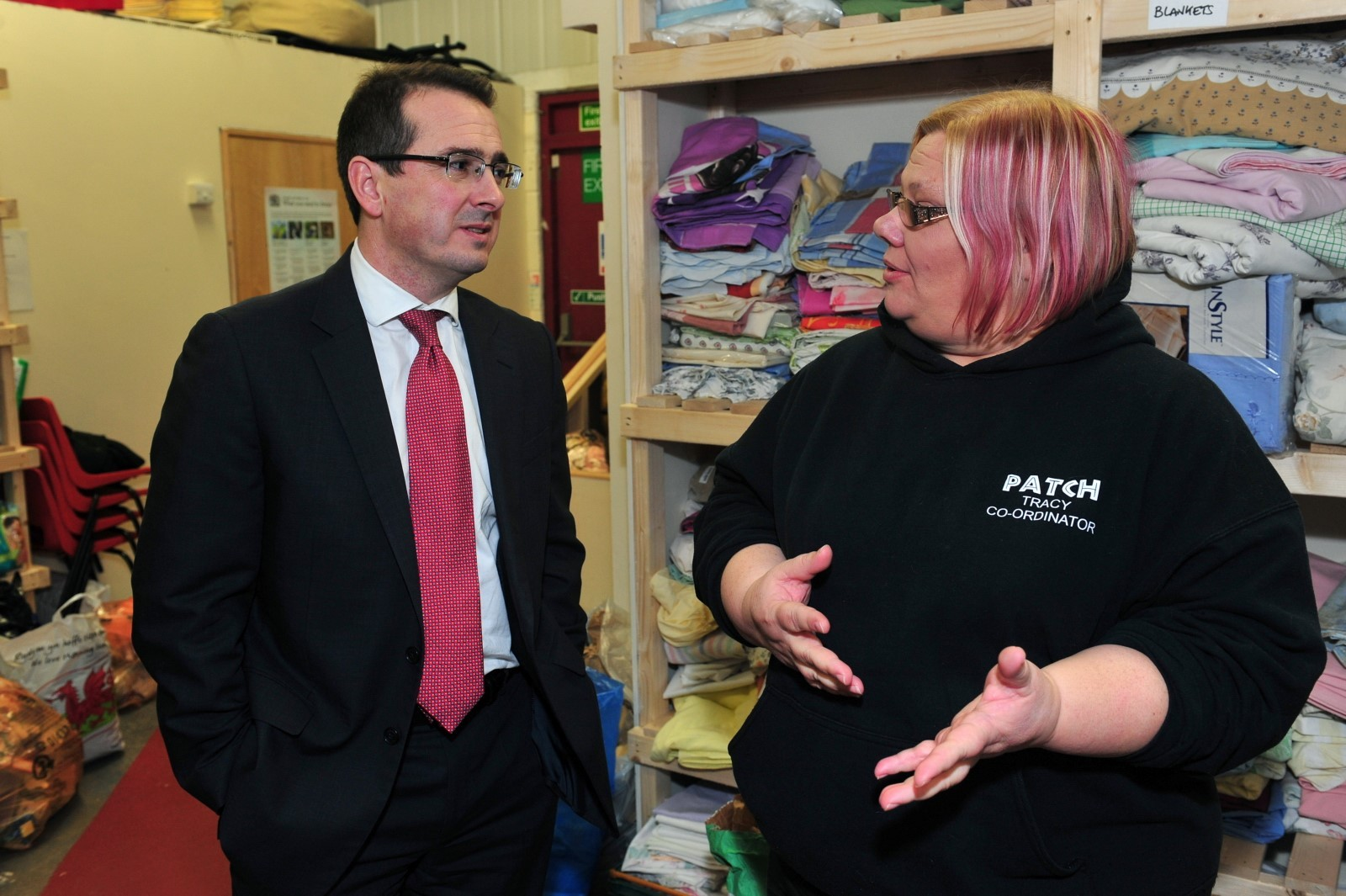 Shadow Welsh secretary 'astounded' by poverty in Wales