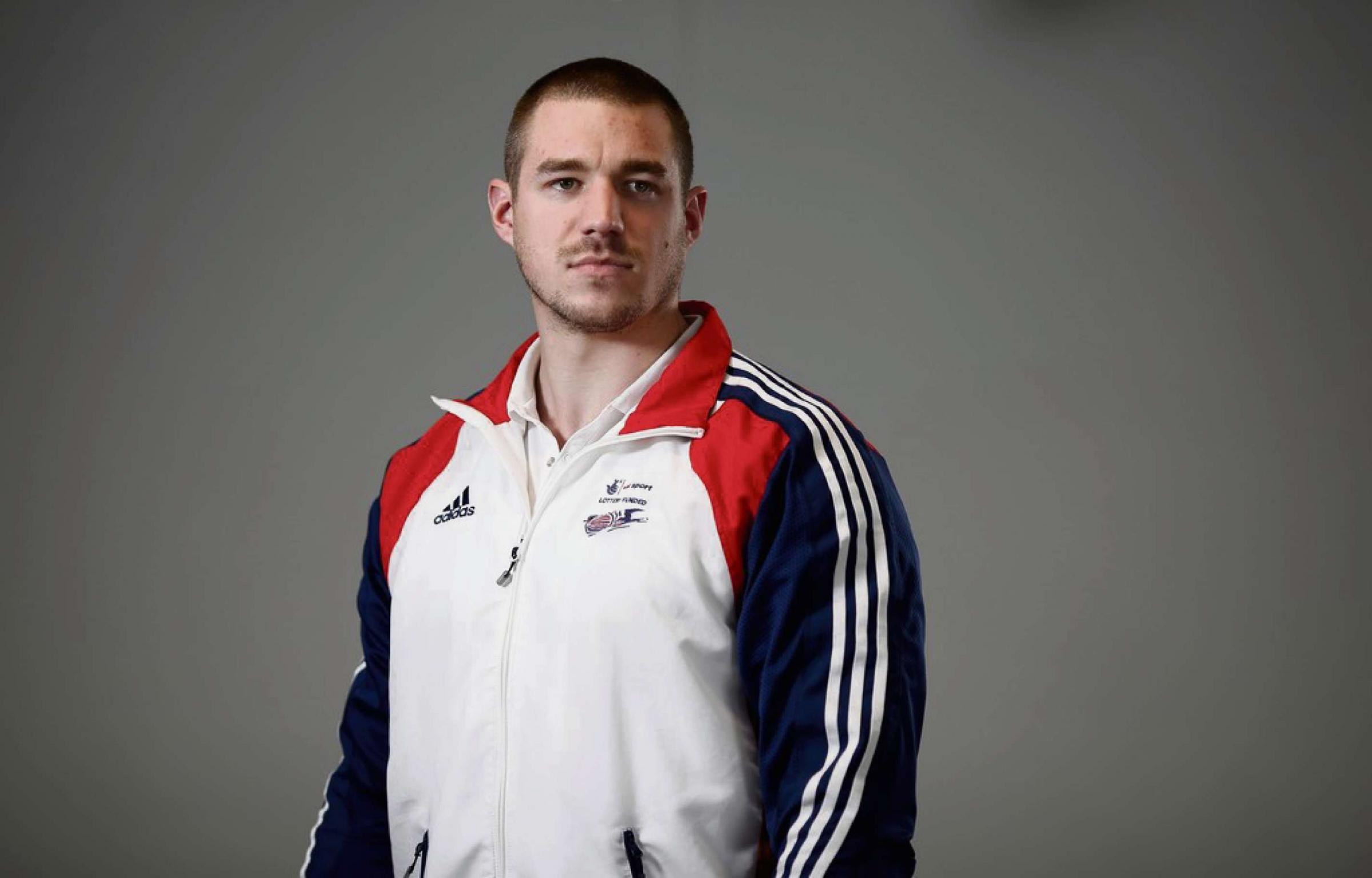 BOBSLEIGH TASK: Bruce Tasker is part of the GB bobsleigh quartet who believe they