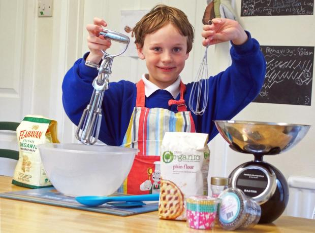 WHISK-Y BUSINESS: Dylan hopes he wil