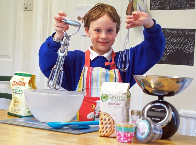 WHISK-Y BUSINESS: Dylan hopes he will soon reach his grand total.
