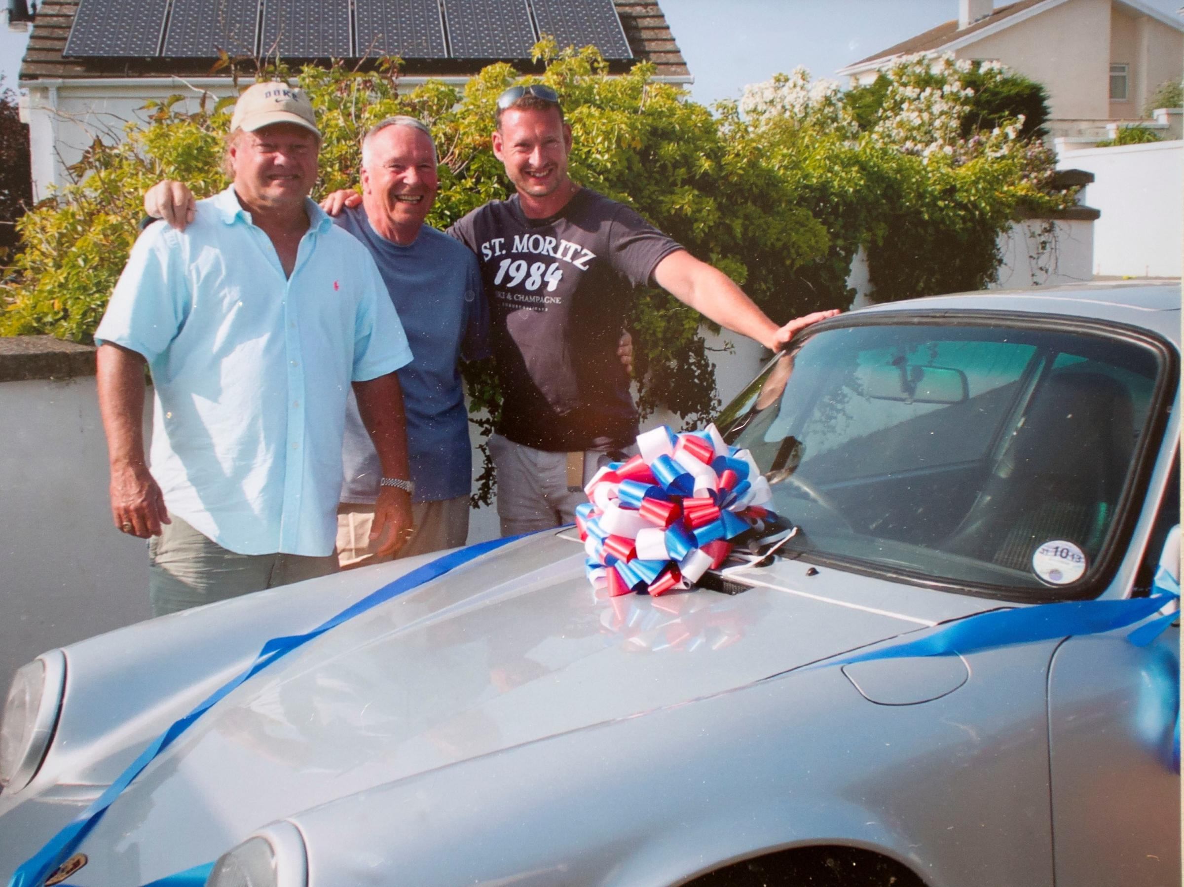 Pembrokeshire man is reunited with beloved Porsche in surprise retirement gift
