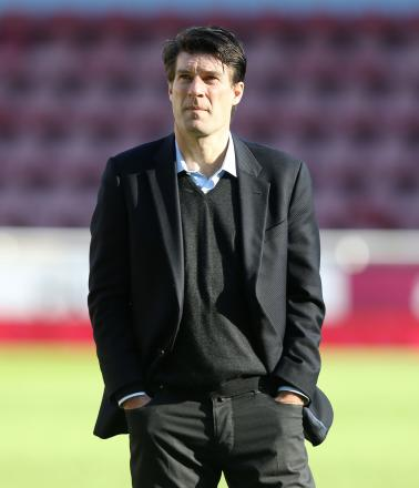FINAL DAYS: Michael Laudrup at Upton Park following Swansea's abject defeat at West Ham. PICTURE: Huw Evans Photo Agency.
