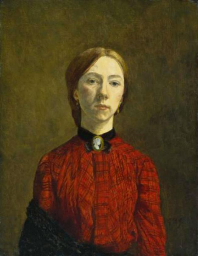 Pembrokeshire-born artist Gwen John who died  in September 1939, aged 63. (3772006)