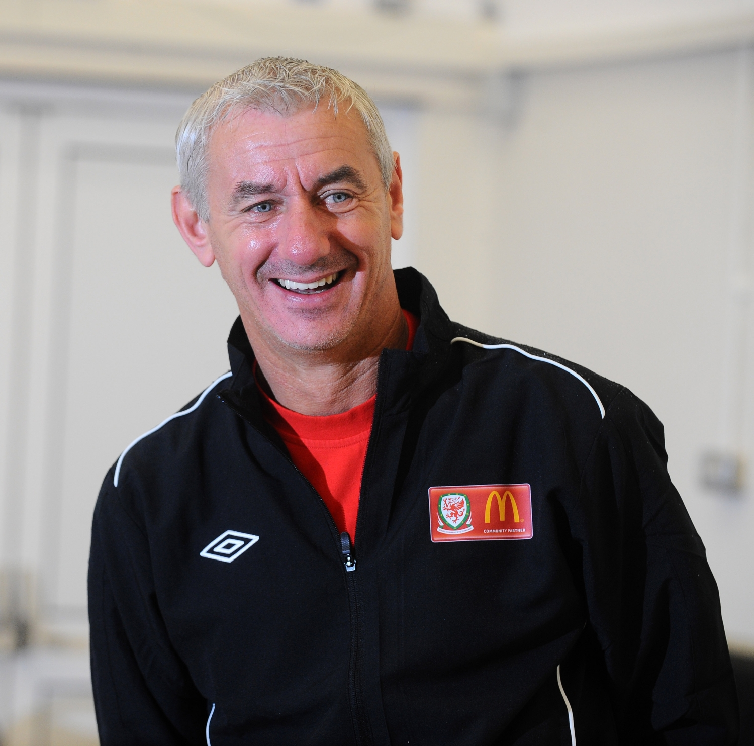 RUSH TO NOMINATE: Ian Rush has told Telegraph Sport it is vital that volunteers at grassroots level are recognised.