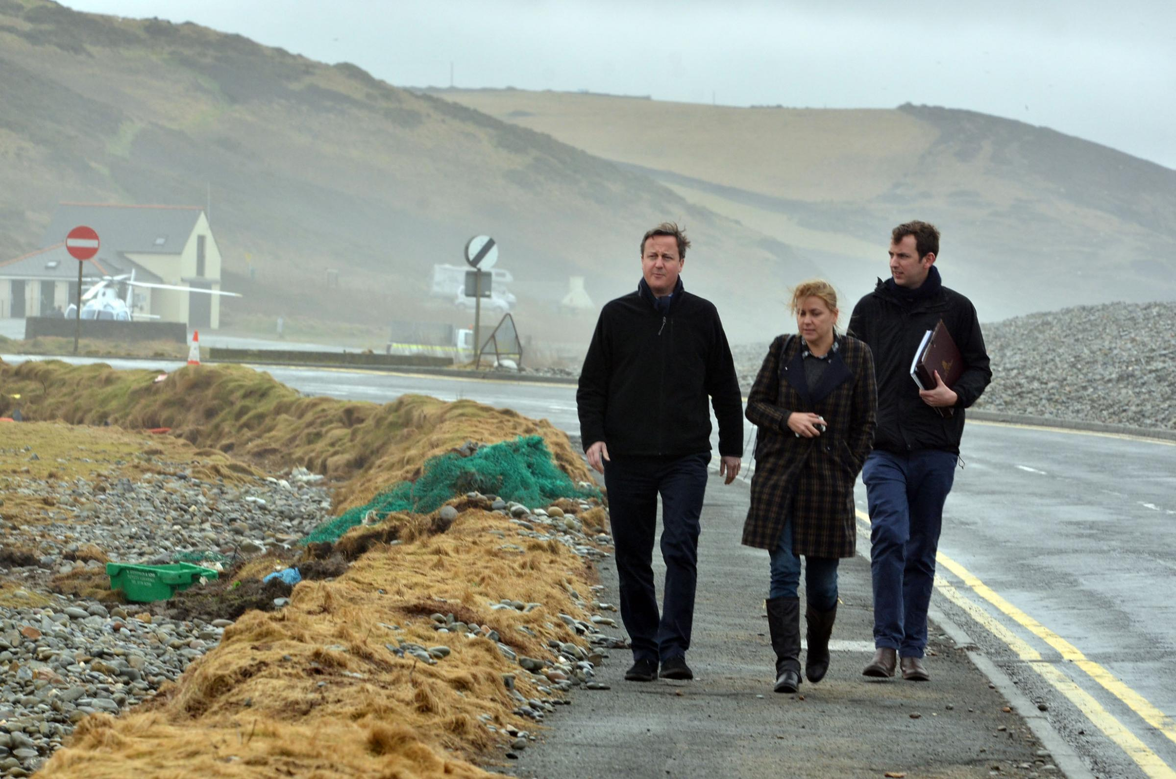 UPDATED: Prime Minister visits Newgale and St Davids