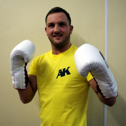 BEST OF BRITISH: Dale Evans is eyeing up a British eliminator fight in May. (4144896)