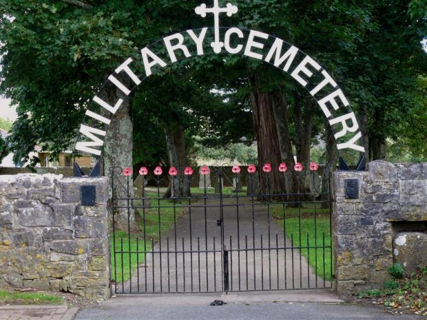 OPEN AGAIN: Wales' only Military Cemetery in Pembroke Dock.  PICTURE: Martin Cavaney. (4216978)