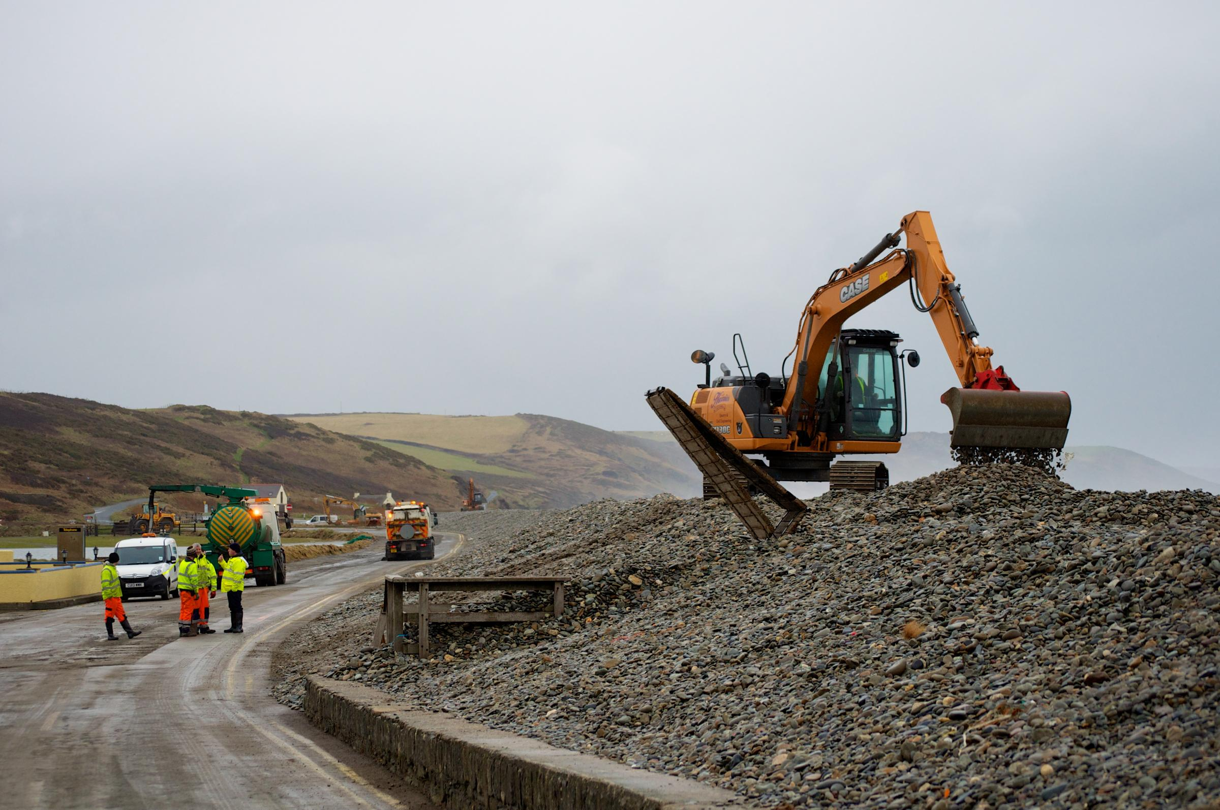 Newgale has had to undergo several clean-ups over recent months following storms and high tides. PICTURE: Western Telegraph.
