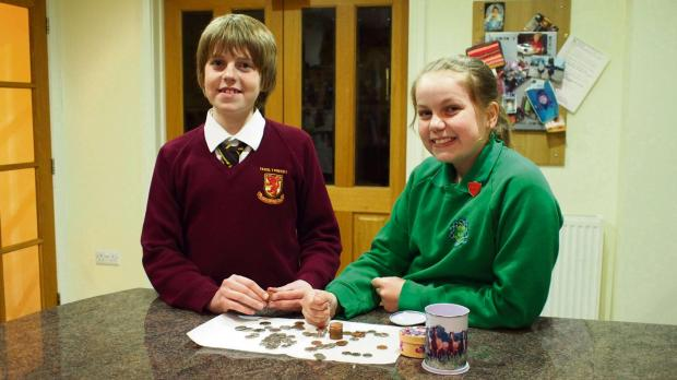 Western Telegraph: SIBLING SUCCESS: Lewis Vaughan,12, and his s