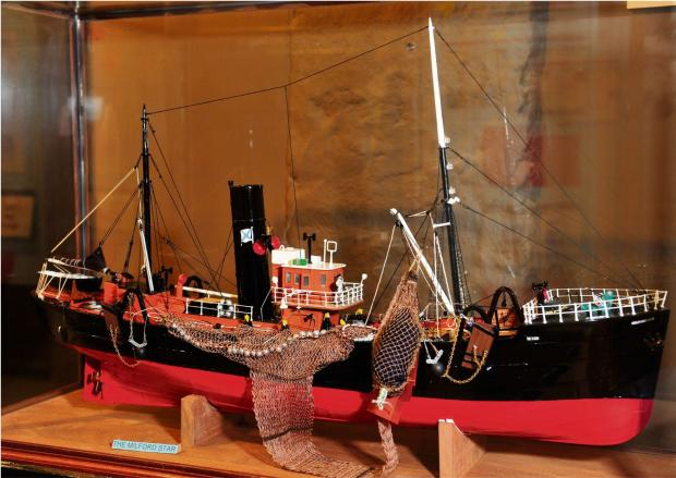 PLENTY TO SEA: Scale models of real trawlers and boats show the incredible work involved in building the real things. PICTURE: Pembrokeshire Photography (5663988)