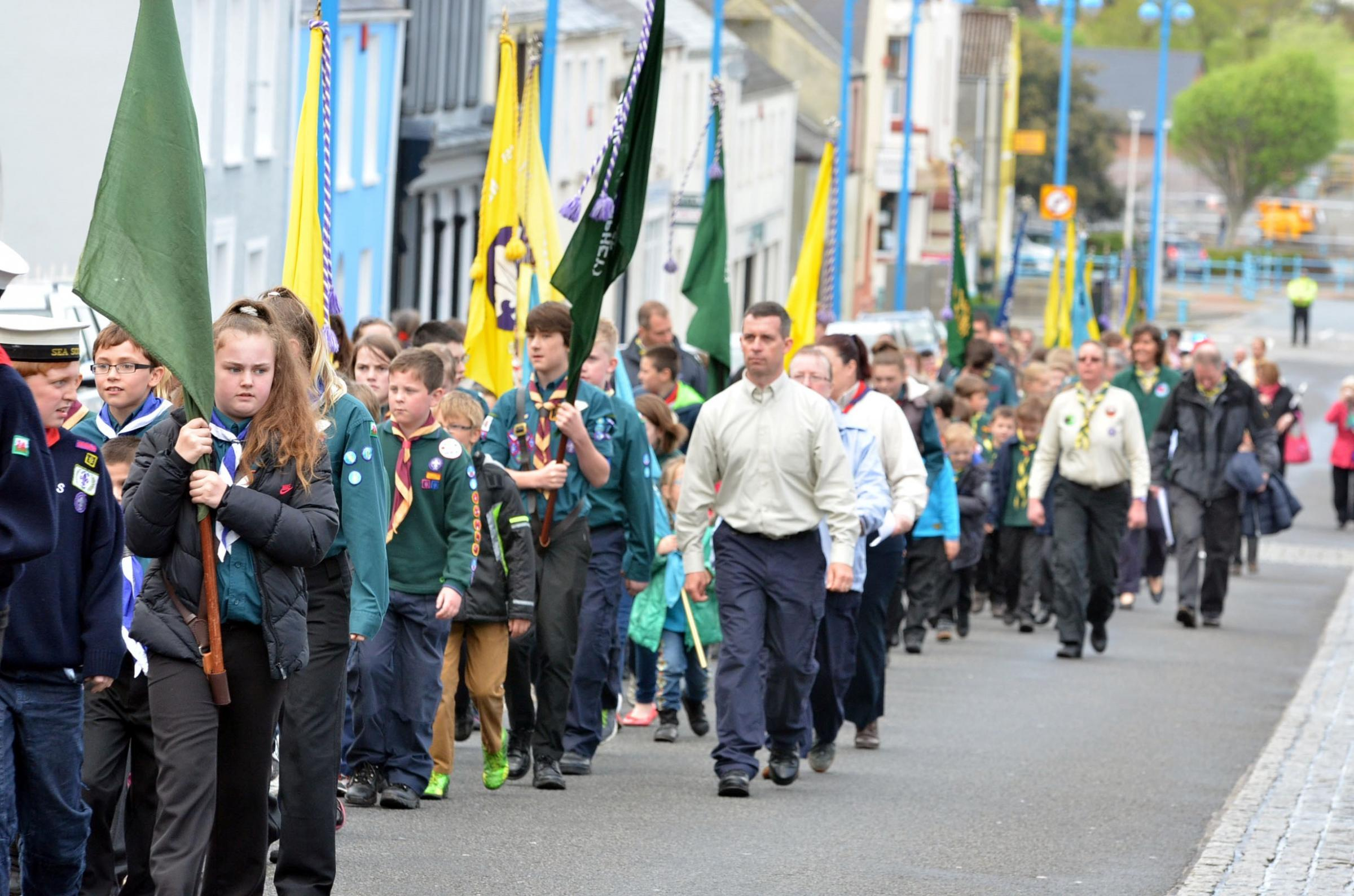 Pembroke Dock chosen to host scouts annual parade