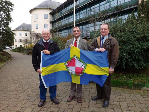 NEW GROUP: The Pembrokeshire Alliance Group – currently made up of Cllrs Peter Stock, Bob Kilmister and Jonathan Nutting. PICTURE: Western Telegraph.   (2773207)