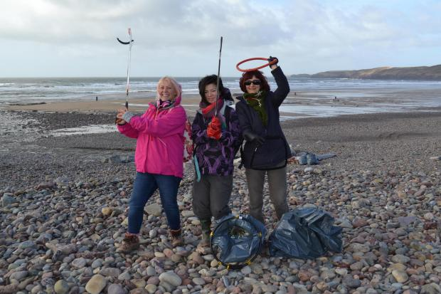 Western Telegraph: MAKING WAVES: A series of beach cleans are taking part in Pembrokeshire this week as part of Clean Coasts Week.