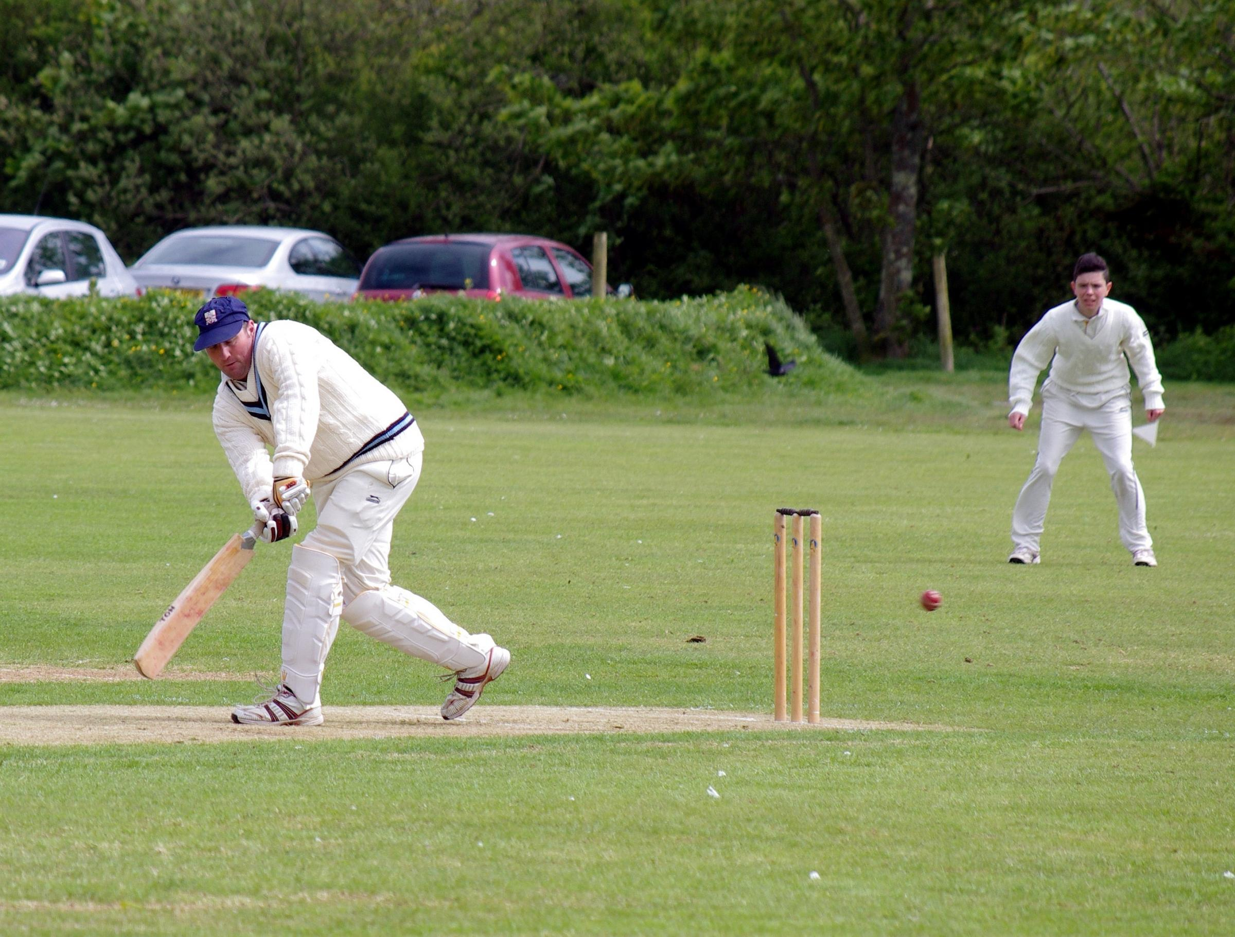 TOP SCORER: Simon Holliday top scored with 66 runs for Haverfordwest who beat St Ishmaels at the Racecourse. PICTURE: Western Telegraph. (6105200)