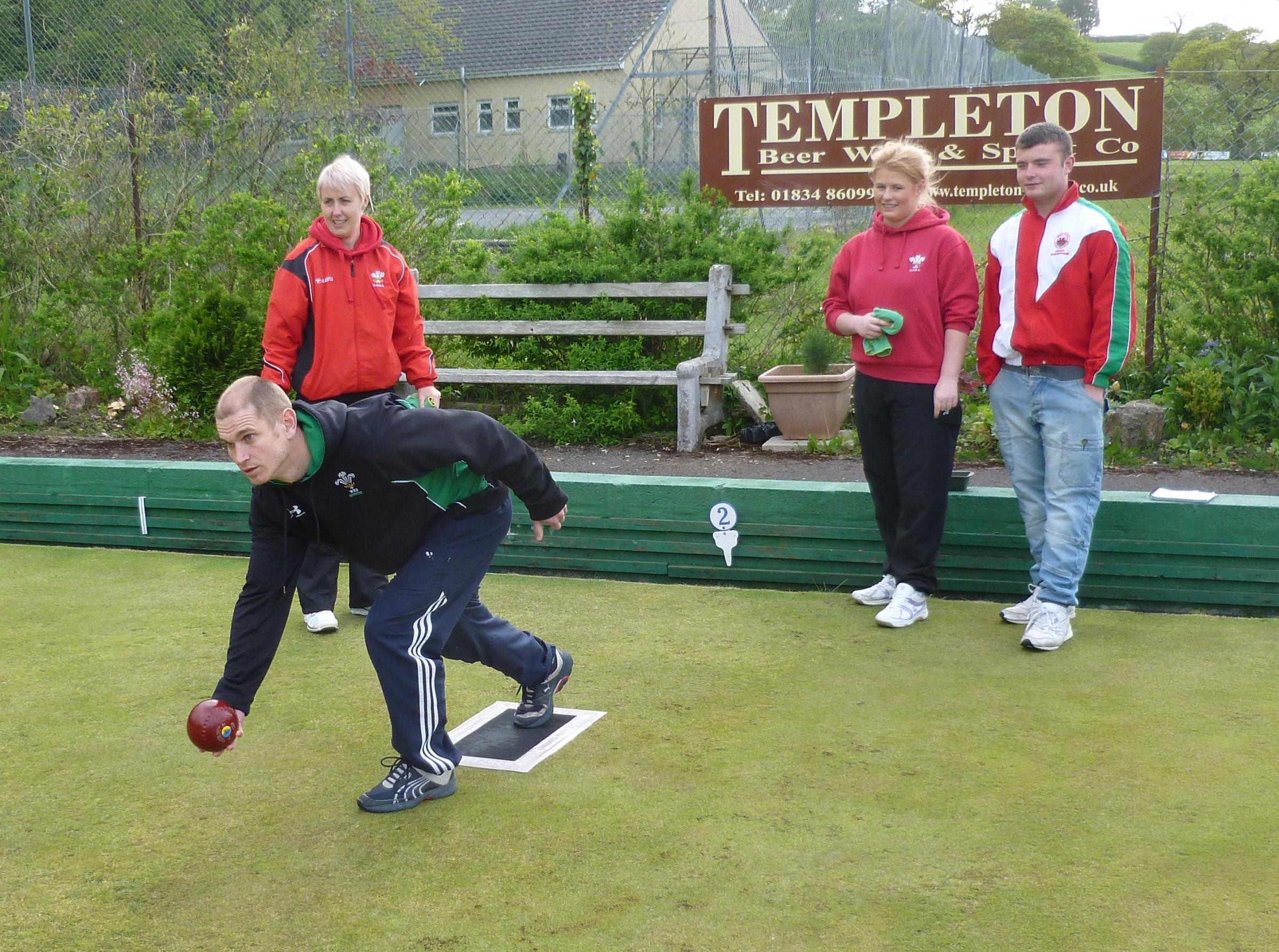 Bowled over in Saundersfoot