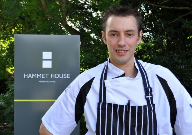 TOP CHEF: Andrew Beaumont will be representing Wales in the Great British Menu.