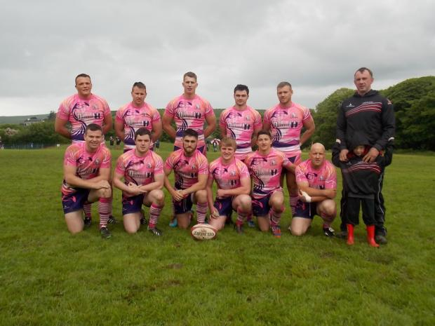 Western Telegraph: CHAMPIONS: Tournament winners the Carmarthen Flamingos.