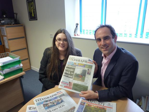 Western Telegraph editor, Holly Robinson meets Dyfed-Powys police Police and Crime Commissioner, Christopher Salmon.