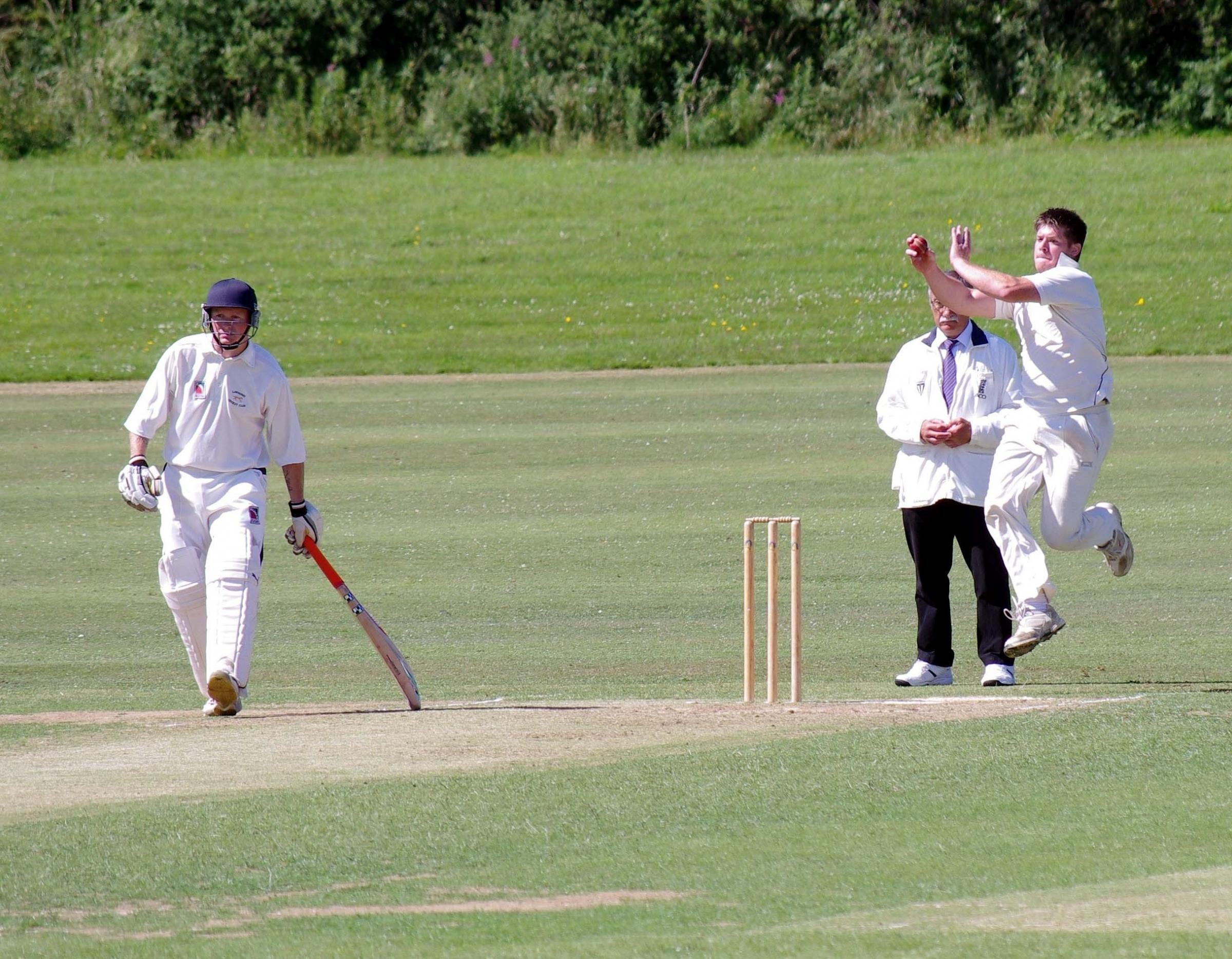 WICKET TAKER: Adam James took six wickets for Haverfordwest against Lawrenny. PICTURE: Western Telegraph. (7909953)