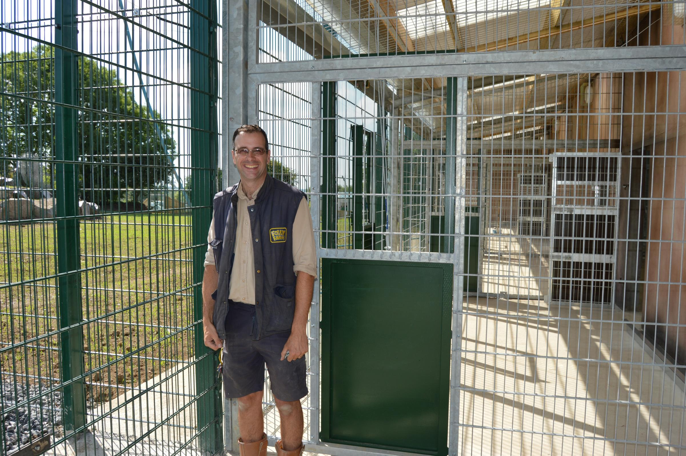 Lions to be the pride and joy of Folly Farm