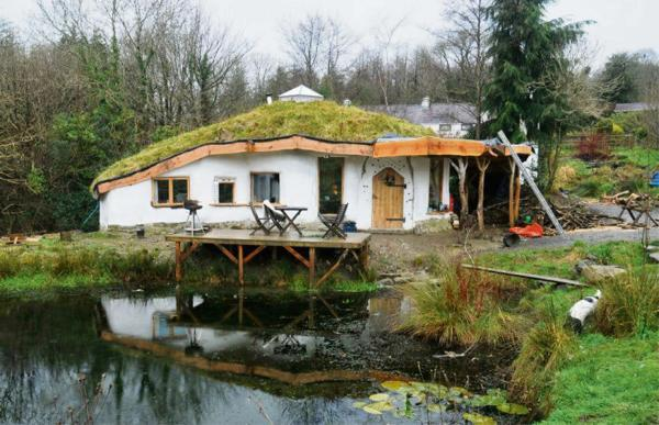 Planning committee members are due to visit self-built eco home Pwll Broga, in Glandwr, today