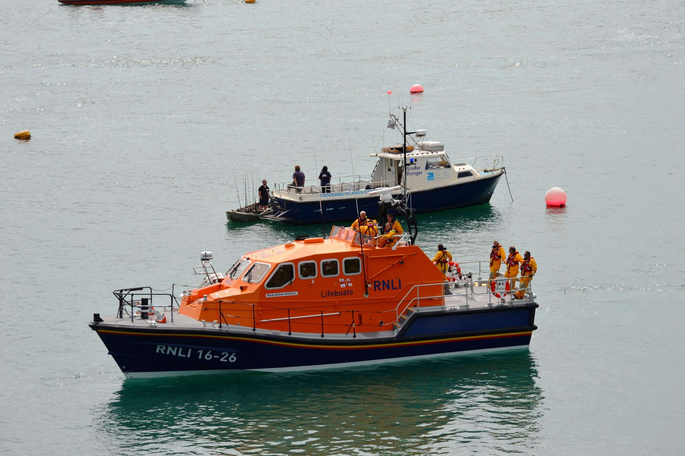 Sporting stars return to city to help launch lifeboat station appeal
