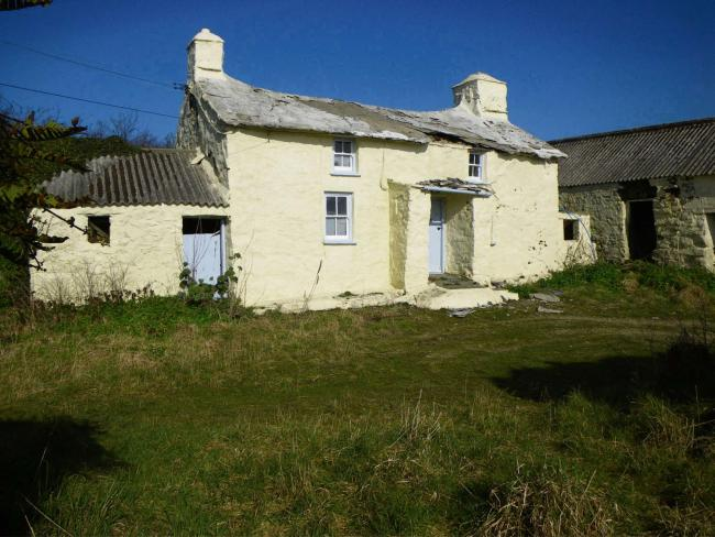 CHERISHED HOME: The cottage near St Davids had been home to the late Mr Glyn Griffiths. It will now be restored by the National Trust and let out for holidays.