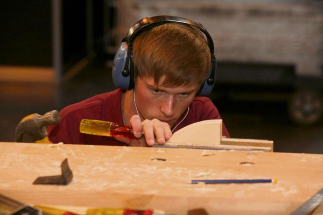 DELIGHTED: Dominic Hicks of Keating Joinery has been selected for the WorldSkills Squad UK.  (8366959)