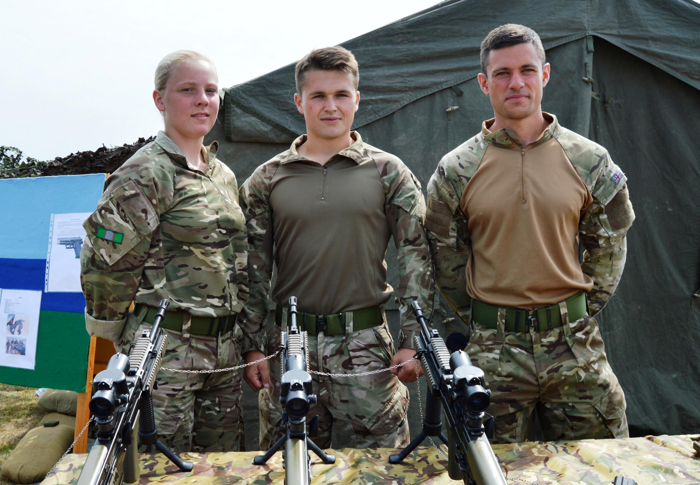 Family fun at the 14th Signal Regiment open day