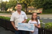 Templeton BIG Weekend Mia Appeal donation
