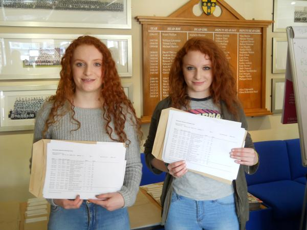 GCSE results celebrated across county