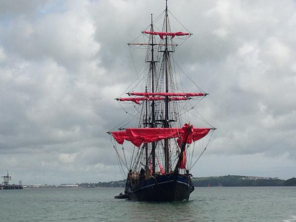 This evening's episode of ITV Cymru Wales's Coast & Country programme features the Earl of Pembroke Tall Ship during its visit to Pembrokeshire for Seafair Haven earlier this year.