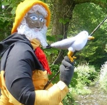 Forty assorted scarecrows will be set out in and around Moylegrove this weekend.