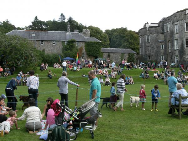 Picton Castle and Gardens traditional Country Fair hopes to capture the spirit of bygone days.