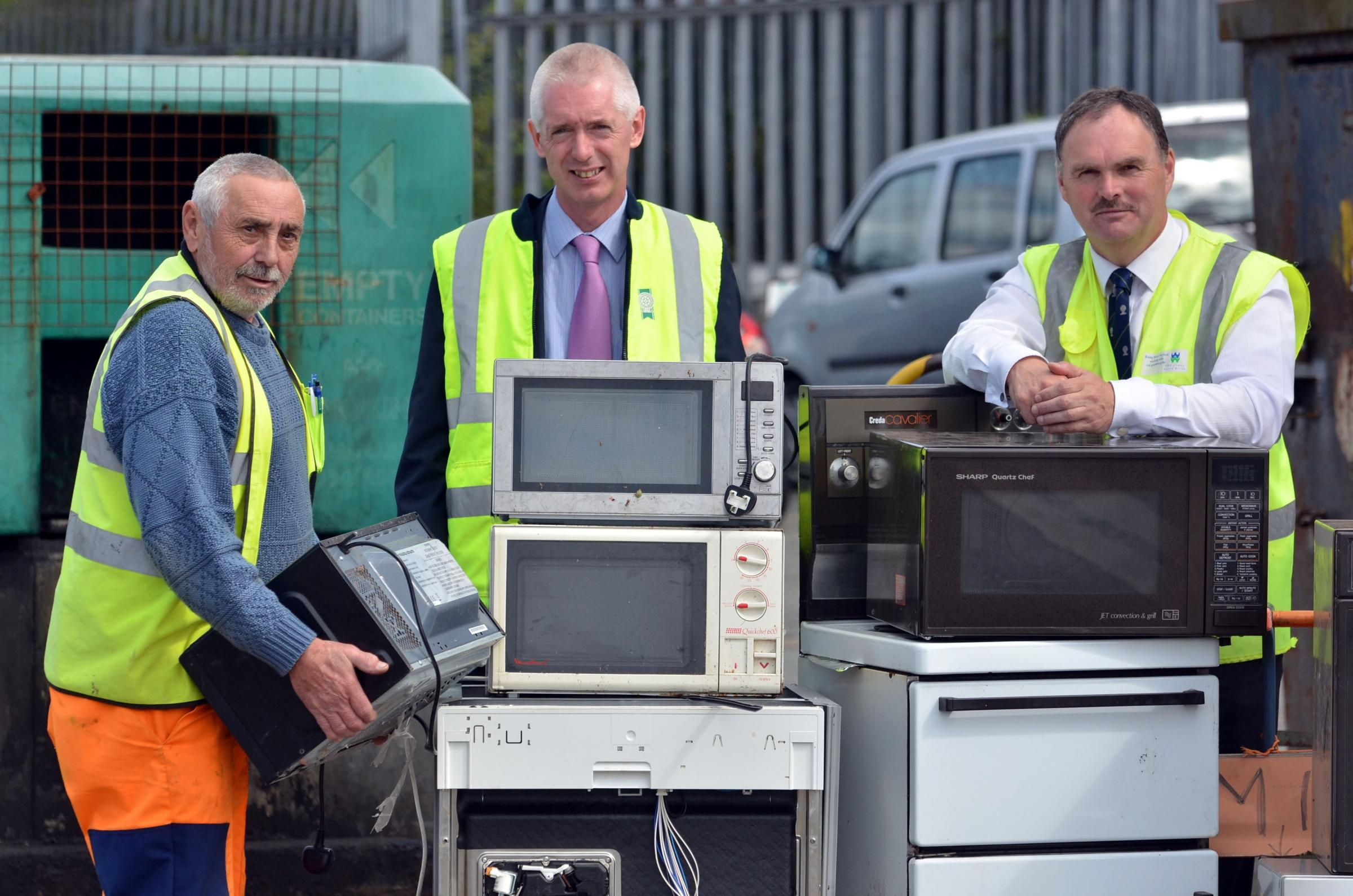 County in Welsh top three for recycling