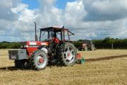 SKILL AND PRECISION: Ploughing demonstrations went on throughout the day. PICTURE: Western Telegraph (9636589)
