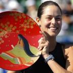 Western Telegraph: Ana Ivanovic secured her fourth WTA title of the year in Tokyo on Sunday (AP)