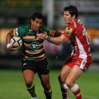 Western Telegraph: Northampton's Ken Pisi scored a try in his team's Aviva Premiership win at Newcastle.