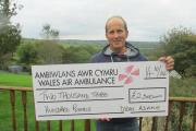 GIVING BACK: Dylan Adams pledged to raise money for the Wales Air Ambulance after suffering a serious fall.  (11603254)
