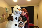 LET IT GO: Lamphey Little Ones Playgroup's Frozen themed Winter Craft Fayre.  (13025853)