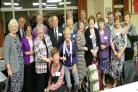 FRIENDS REUNITED: Pupils who were at St Davids Grammar School between 1944 and 1957.