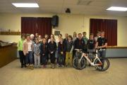 Martletwy YFC welcome their very own Ironman Sion Jenkins.