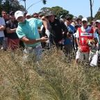 Western Telegraph: Rory McIlroy struggled badly just before the turn at the Australian Open (AP)
