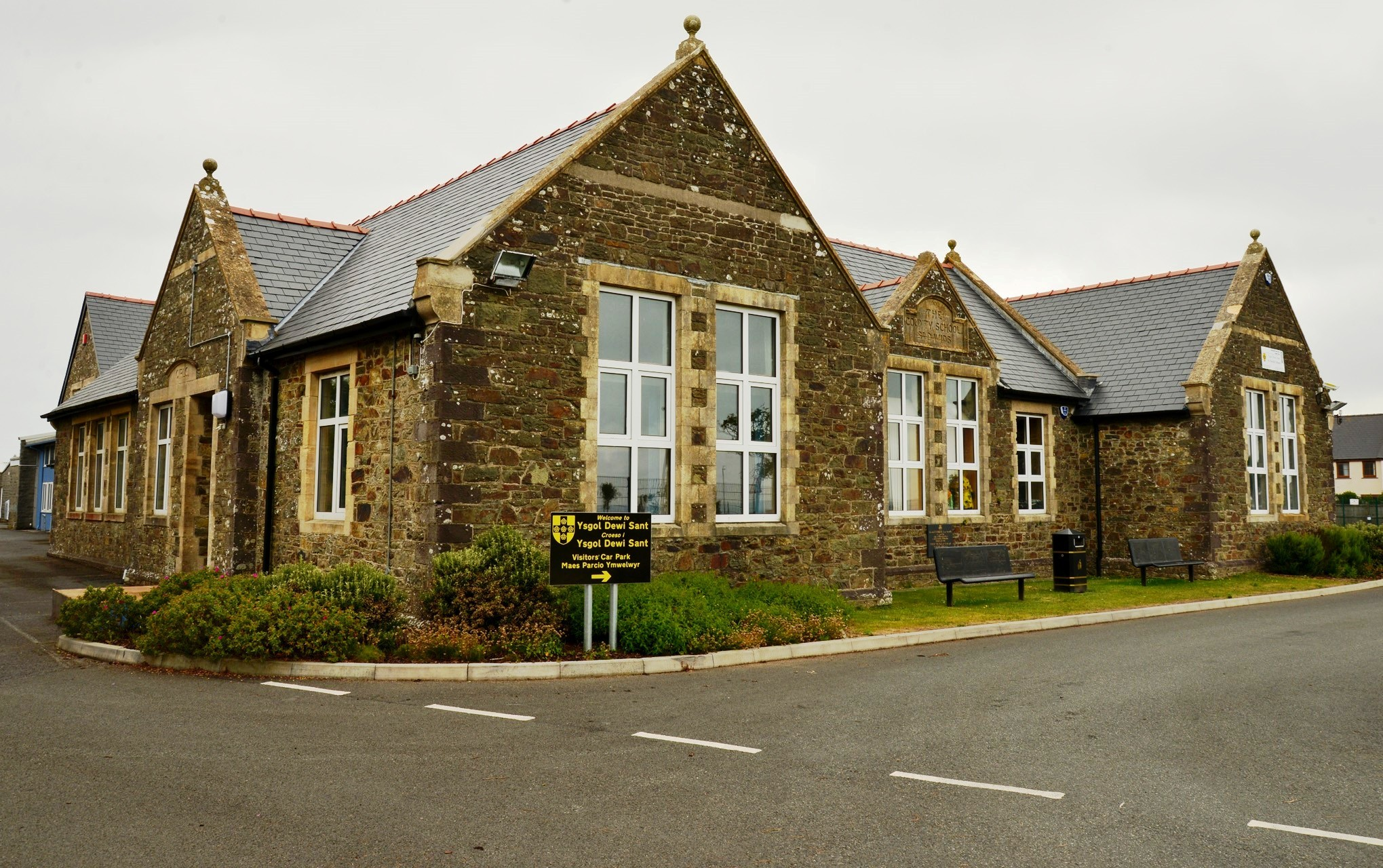 IMPROVING SCHOOL: Ysgol Dewi Sant is no longer on a list of schools requiring significant improvement.PICTURE: Western Telegraph (14065454)
