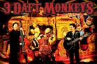 The Cornish alt-folk band 3 Daft Monkeys will be performing on Friday, March 6.