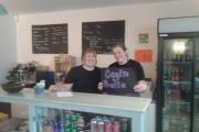 Catherine and Emily Morley, of Hermon, have been working hard to convert an old class room in their old village school into Cegin Bella cafe. (17814870)