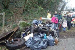 'Stop it, and tidy up' is message to fly-tippers