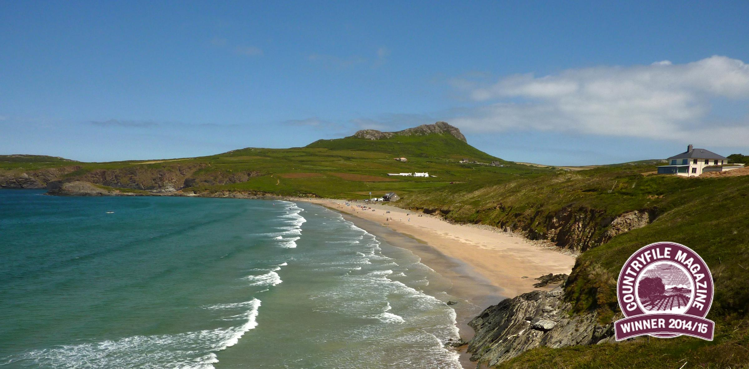 Whitesands scoops BBC Countryfile Magazine's Beach of the Year prize