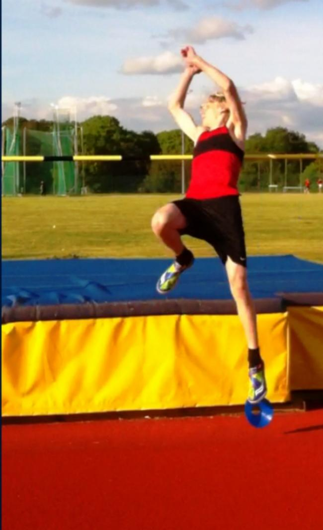 Thom Wyburn is a highly promising high jumper (20013900)